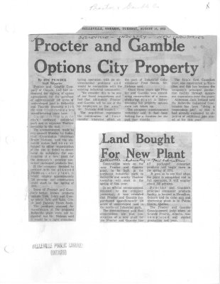 Procter and Gamble Options City Property