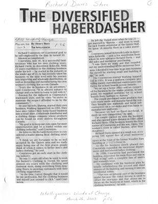 The Diversified Haberdasher