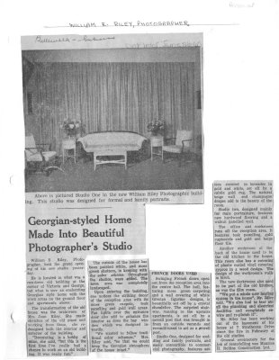 Georgian-styled Home Made into Beautiful Photographer's Studio