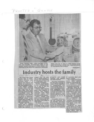 Industry hosts the family