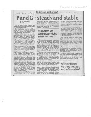 P and G: steady and stable