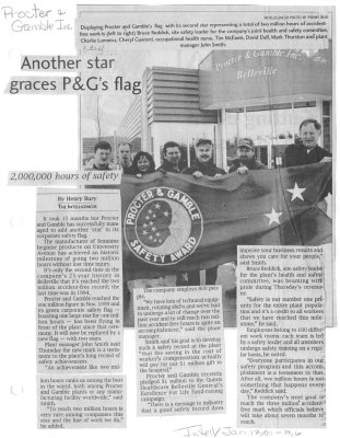 Another star graces P&G's flag