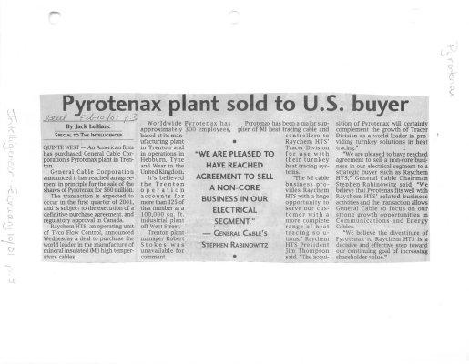 Pyrotenax plant