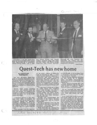Quest-Tech has new home