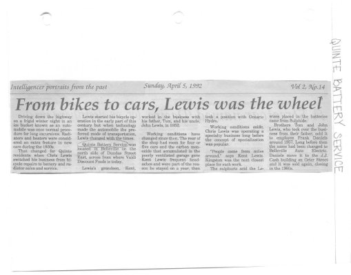 From bikes to cars, Lewis was the wheel
