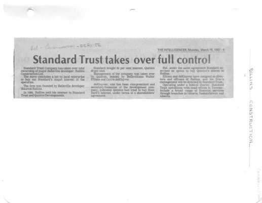 Standard Trust takes over full control