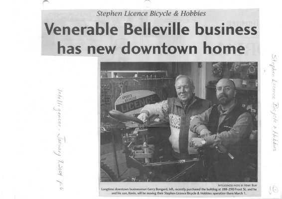 Venerable Belleville business has new downtown home