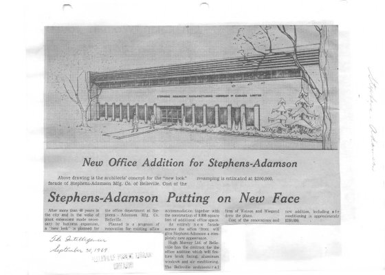Stephens-Adamson Putting on New Face