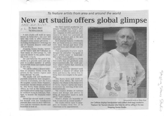 New art studio offers global glimpse