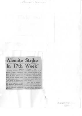 Alemite Strike In 17th Week
