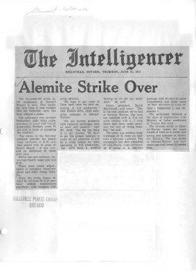 Alemit Strike Over