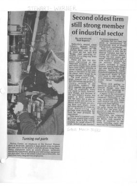 Second oldest firm still strong member of industrial sector