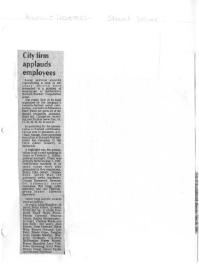 City firm applauds employees