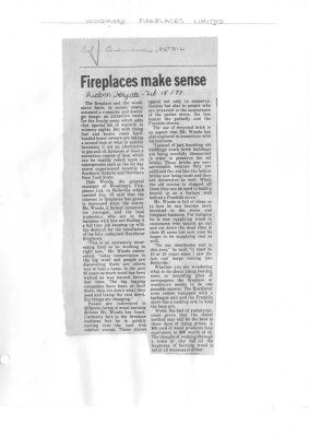 Fireplaces make sense