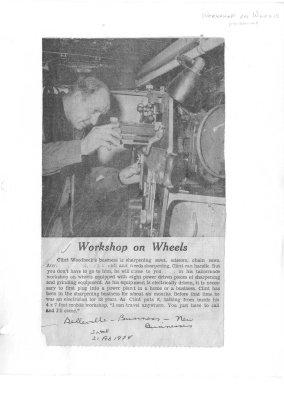 Workshop on Wheels