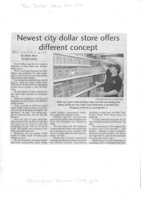 Newest city dollar store offers different concept