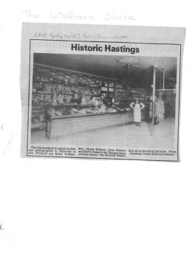 Historic Hastings: The Wallace Store