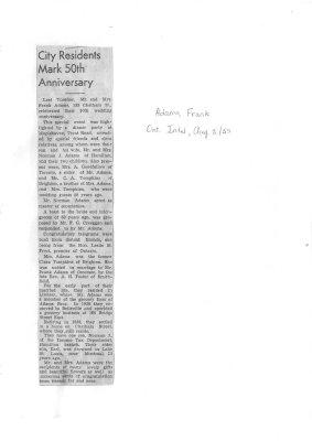 City residents mark 50th Anniversary