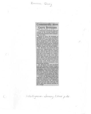 Community man Gerry Brennan