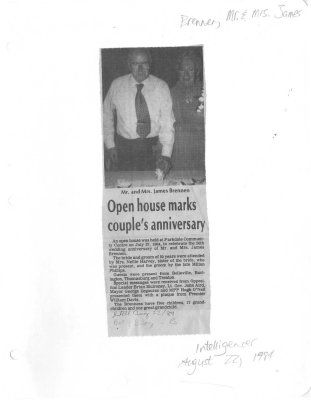 Open house marks couple's anniversary