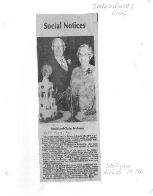Social Notices