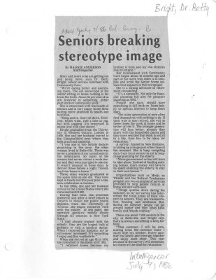 Seniors breaking stereotype image