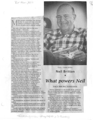 What powers Neil