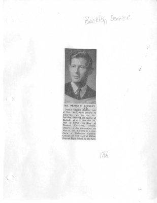 Mr. Dennis C. Buckley