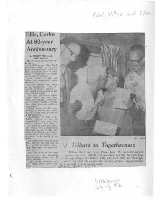 Ellis, Corke At 60-year Anniversary