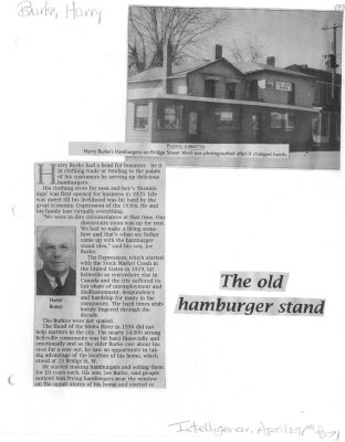 The old hamburger stand