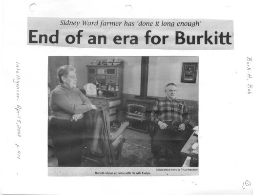End of an era for Burkitt