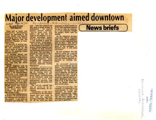 Major development aimed downtown