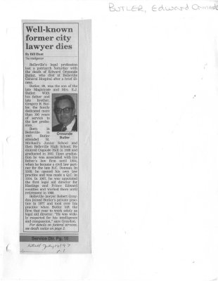 Well-known former city lawyer dies