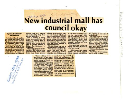 New industrial mall has council okay