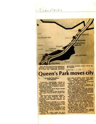 Queen's Park moves city