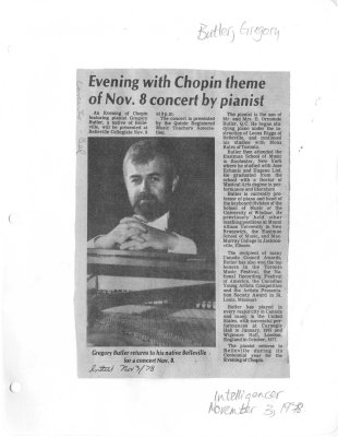 Evening with Chopin theme of Nov. 8 concert by pianist