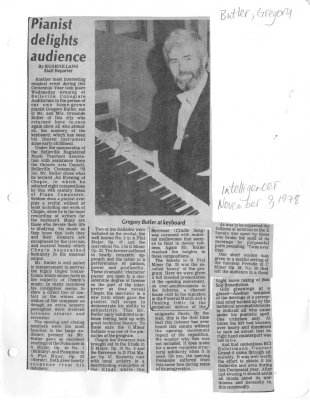 Pianist delights audience