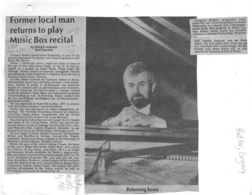 Former Local man returns to play Music Box recital
