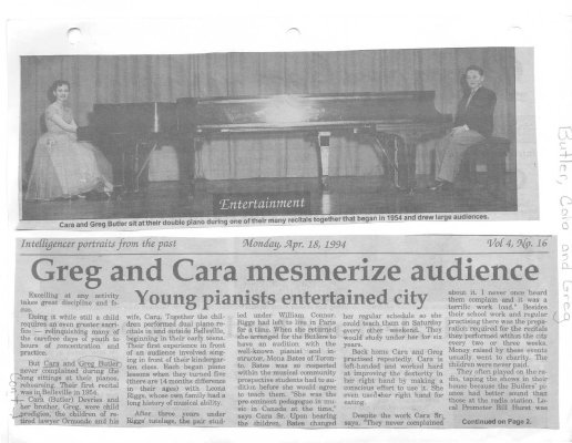 Greg and Cara mesmerize audience
