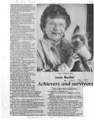 Achievers and survivors