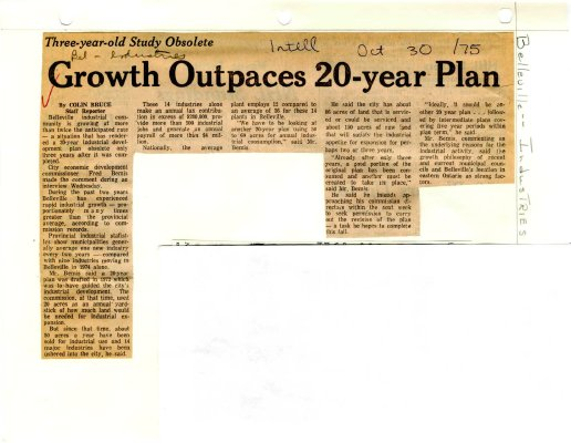 Growth Outpaces 20-year Plan
