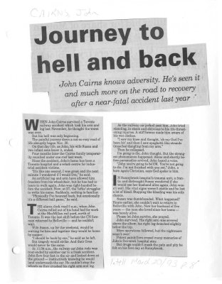 Journey to hell and back