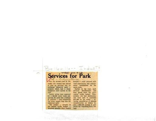 Services for Park