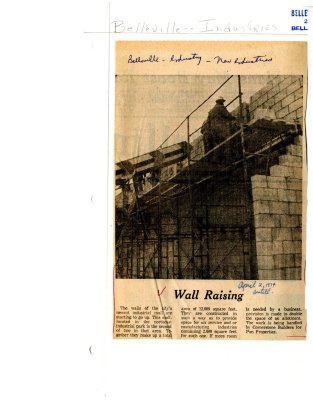 Wall Raising