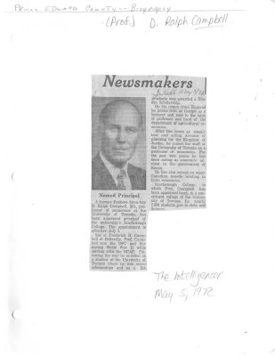 Newsmakers: Named Principal