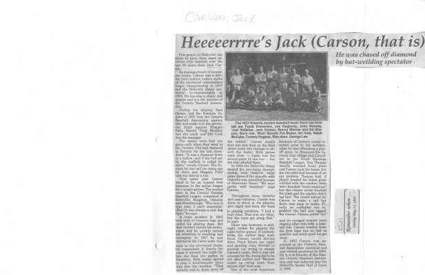 Heeeeerrrre's Jack (Carson, that is)