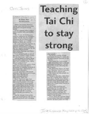 Teaching Tai Chi to stay strong
