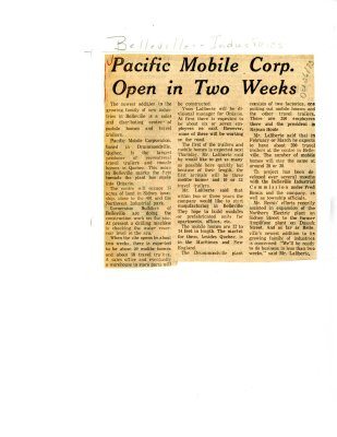 Pacific Mobile Corp. Open in Two Weeks