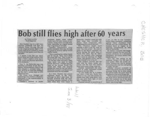 Bob still flies high after 60 years