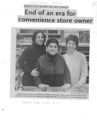 End of an era for convenience store owner